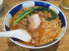 搾菜担々麺 支那麺はしご赤坂店@溜池山王