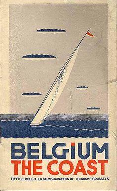 """""""Belgium - The Coast,"""" circa 1936"""