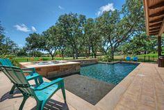 rectangular pool House of Turquoise: Van Wicklen Design