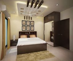 4 bedroom apartment at sjr watermark: bedroom by ace interiors House Ceiling Design, Ceiling Design Living Room, Bedroom False Ceiling Design, False Ceiling Living Room, Bedroom Bed Design, Bedroom Furniture Design, Modern Bedroom Design, Bedroom Decor, Bedroom Designs