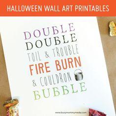 FREE Halloween Wall