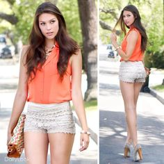 Orange Creamsicle Look by Bonnibel, Idea, and MMS