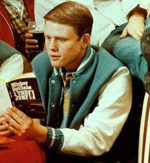 Richie Cunningham on Happy Days.