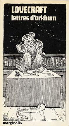 H.P Lovecraft — Moebius