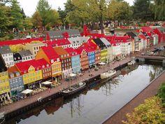 Lego Nyhavn, Legoland Billund, Denmark