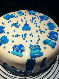 Er was al taart op zijn feestje, maar toch ook graag een op de verjaardag zelf!
