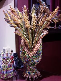 VASO CON SPIGHE DI G… | Album | 3d emilio | 3D Origami Art