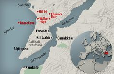 Churchill put forward a proposal to send his naval fleet through the needle of the Dardanelles, a waterway that separated Europe and Asia in northwest Turkey. The Allies later launched a major land invasion of Gallipoli Ww1 Photos, Photographs, Gallipoli Campaign, Troops, Soldiers, Anzac Cove, Waves After Waves, No Mans Land, Anzac Day