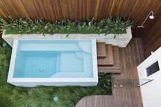 Having a pool in the home could really improve life. It is not only a decoration just like your landscape, but it also offers numerous benefit for health and others. A nice pool in the backyard… Pools For Small Yards, Small Swimming Pools, Swimming Pools Backyard, Swimming Pool Designs, Pool Decks, Garden Pool, Pool Landscaping, Backyard Pool Designs, Small Backyard Pools