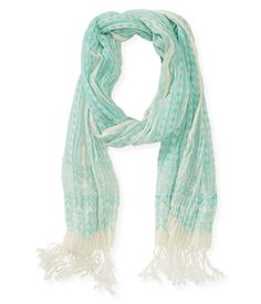 Fringed Scarf from Aeropostale