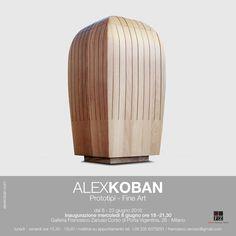 invito mostra alex koban 8 giugno 2016