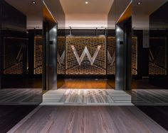 The W Chicago Lakeshore lobby was designed as a distinctly modern urban escape filled with dramatic glamour. The outcome of the innovative renovation is a st...