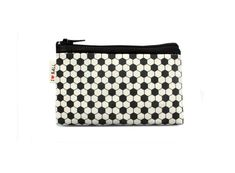 Black and White geometric design coin purse with by efratul, $9.00