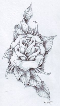 Rose idea for my shoulder