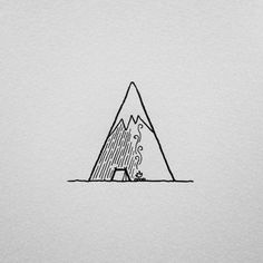"""In the shadow of the mountain. #drawing #art #penandink #doodle #design #graphicdesign #illustration #illustree #doodling #tattoo #camping #campvibes #pnw #upperleftusa #portland #oregon #mountains #keepitsimple #staywild #iblackwork #homeiswhereyoupitchit"" Photo taken by @david_rollyn on Instagram, pinned via the InstaPin iOS App! http://www.instapinapp.com (02/28/2016)"