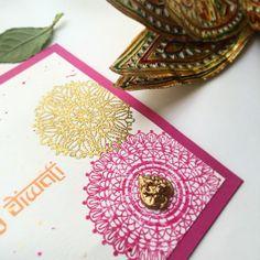 handmade diwali cards Light, Diya, Festival of light, Handmade ...