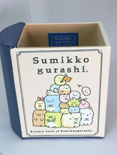 San-X Sumikko Gurashi Pen Pencil Container Stand Picture Book Of Sumikko gurashi