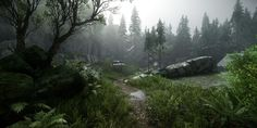 CryEngine Voxel-Based Experiments by Brian Leleux