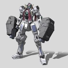 The GN-004 Gundam Nadleeh (aka Gundam Nadleeh, Nadleeh), is the hidden form of GN-005 Gundam Virtue in season one of Mobile Suit Gundam 00. Its design was later succeeded by the GN-009 Seraphim Gundam. The unit is piloted by Tieria Erde.
