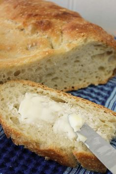 Fast No-Knead Bread Recipe ~The Easiest Loaf You'll Ever Bake