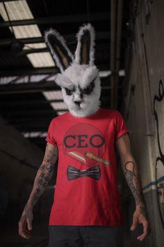 CEO'S ROCK' FAMOUS T-SHIRT - L / RED