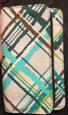 """Sneak preview from thirty ones fall 2013 catalog! A brand new pattern on the brand new """"free to be soft"""" wallet!!!"""