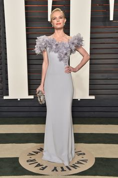 Inside the Most Exclusive Oscar After-Parties Kate Bosworth in Ralph & Russo and Jimmy Choo shoes