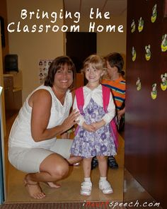 Bringing the Classroom Home Week 1 - Apples | iHeartSpeech.com