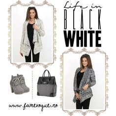Designer Clothes, Shoes & Bags for Women Oversized Cardigan Outfit, Cardigan Outfits, Casual Ootd, Ootd Fashion, Outfit Ideas, Polyvore, Stuff To Buy, Shopping, Accessories
