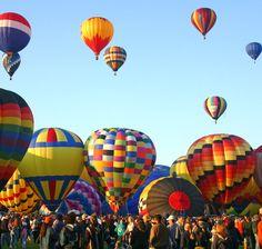 New Mexico -- Albuquerque Intl Balloon Fiesta -- Thrillist -- 5-14-16 -- photo, Gary L. Brewer, Shutterstock -- The Best Time to Visit All 50 StatesThe Best Time to Visit All 50 States
