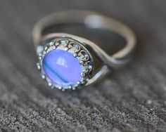 Real Butterfly Wing Ring Purple Mountain Swallowtail Graphium Weiskei 1468 sterling silver