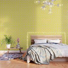 Bright Wallpaper, Pop Art Wallpaper, Brown Wallpaper, Black And White Wallpaper, Peel And Stick Wallpaper, Tribal Pattern Wallpaper, Wallpaper Patterns, Accent Wall Bedroom, Accent Walls