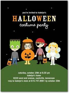 7 best halloween invitations images on pinterest halloween party