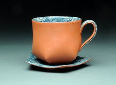 Sewing Clay with Lauren Karle - Ceramic Arts Network Pottery Mugs, Ceramic Pottery, Ceramic Cups, Ceramic Art, Clay Cup, Fun Cup, Ceramic Design, Tea Bowls, Drinking Tea
