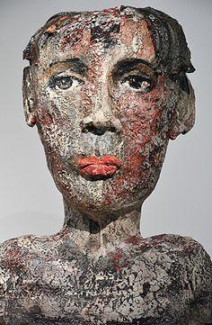 Teresa Gironès #ceramics #busts