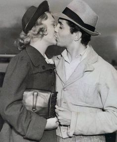 Sonja Henie and Tyrone Power