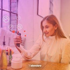 A felicidade de ver que seus leads estão aumentando e suas vendas se concretizando... Com o Atendare você e seus clientes ficam mais felizes!