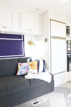 Mantel And Hearth In A Travel Trailer