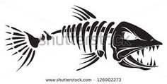 Image result for fish skeleton images