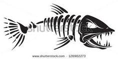 Image result for fish skeleton images
