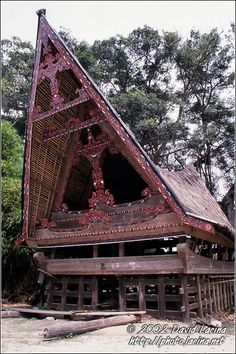 Batak House - Lake Toba, Indonesia