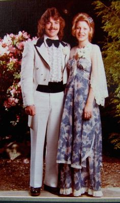 I bought that Gunne Sax dress off eBay, and the lady posted the picture of her wearing it to her late 70's prom... it made me love the dress so much more to see its history.