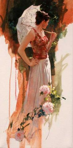 """Sun Light Garden"" Richard S. Johnson"