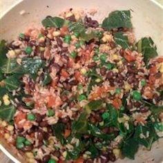 Kale, Quinoa, and Avocado Salad with Lemon Dijon Vinaigrette Recipe - Allrecipes.com