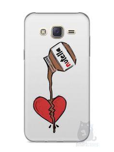 Capa Capinha Samsung J7 Nutella #3 - SmartCases - Acessórios para celulares e tablets :)