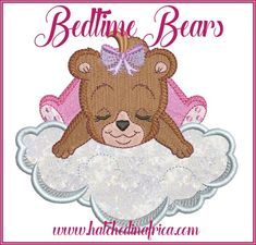 10 5x7' Applique Embroidery Designs These are super cute and great to use on baby quilts, cot bumpers, burp cloths, pajama's and more! Cot Bumper, Applique Embroidery Designs, Burp Cloths, Baby Quilts, Bedtime, Free Design, Super Cute, Teddy Bear, Toys