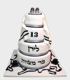 גלריה עוגות בר מצווה - שוגה