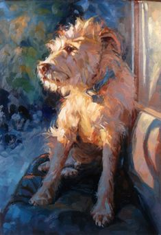 Lisa Keene.. There is something sweet and charming about this little shaggy dog.  TG