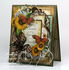 Fall Card with Time To Flourish - Scrapbook.com