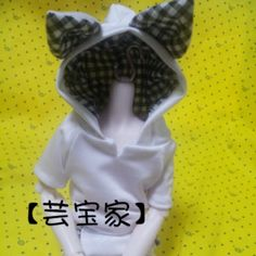 [Home] Yun Bao 1/4 BJD doll clothes plaid shirt casual everyday rabbit can be customized with pants - Taobao